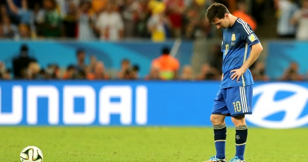 Don't cry for me Argentina - Lionel Messi is the loneliest man in the Maracanã
