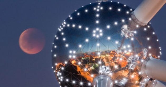 Slideshow: Last night's lunar eclipse