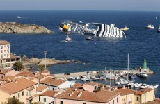 Crews begin to re-float sunken Costa Concordia