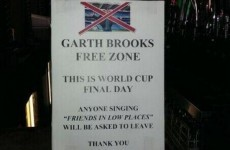Dublin pub declares itself a 'Garth Brooks free zone'
