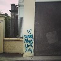 Cheekiest graffiti ever spotted in Stillorgan
