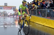 Teary-eyed Contador pulls out of Tour de France after 10th stage crash