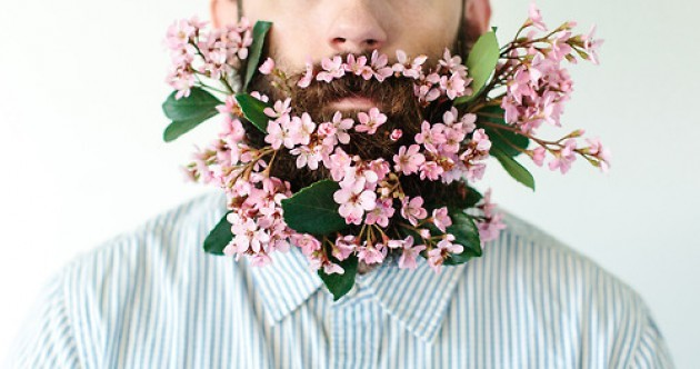 Flower Beards are the latest weird trend in facial hair