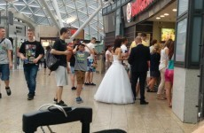 Kildare man snaps bride and groom heading for a cheeky Burger King