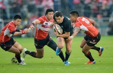 Japan and Singapore go head-to-head for final Super Rugby spot