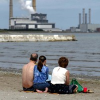 Temporary ban on bathing in place at Sandymount Strand