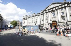 'Human remains' found during Luas works outside Trinity this afternoon
