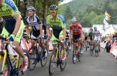 Nico Roche wins combativity award on stage 11 of the Tour de France