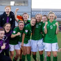 Here's the Clare Shine goal that handed Ireland a historic victory over Spain
