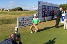 Ireland's Kevin LeBlanc holds his nerve to win the Junior Open Championship