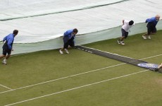 Frustration for Niland as rain halts Wimbledon qualifiers