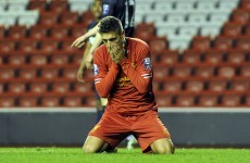 Post-Suarez era starts with defeat for Liverpool