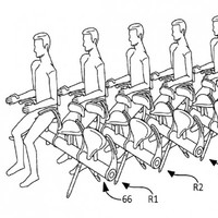 "Airbus patents new ""moped-style"" aeroplane seats"