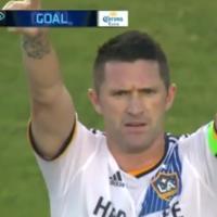 Robbie Keane scored an absolute belter for LA Galaxy last night