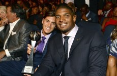 'Have the courage to be yourself' - Michael Sam's moving awards speech