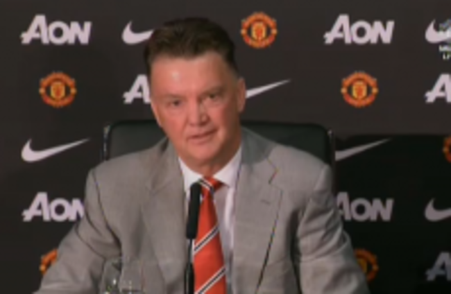 As it happened: Louis van Gaal's first press conference as Man United manager