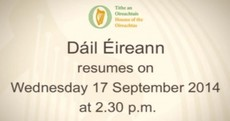 Dáil over: TDs are off on their summer holidays* and won't return until the middle of September