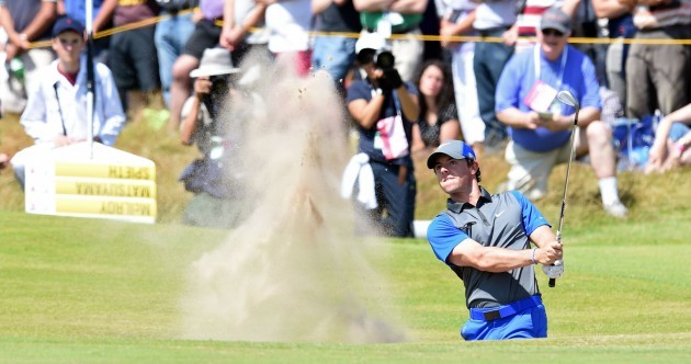 We'll leave it there so: Rory leads at the Open, European win for Sligo and all today's sport