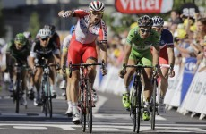 Sagan pipped on the line (again!) as Kristoff wins Stage 12 at the Tour de France