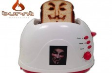 You can now buy a toaster that burns your selfie onto bread