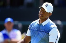 'Jesus Christ!' - Tiger Woods wasn't happy with Open photographers