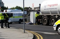 Woman killed after being hit by lorry at Heuston Station