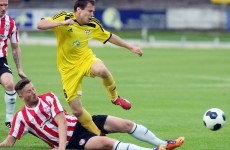 Defensive error proves costly as Derry beaten in Europe