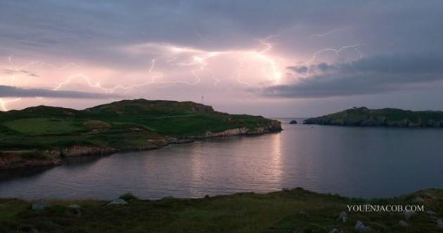 Spectacular photos of the huge lightning storm over Cork