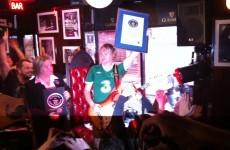 Irish guitar hero smashes world record after 114 hours of jamming