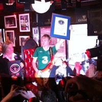 Irish guitar hero smashes world record after 114 hours of jamming