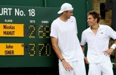 Not you again? Marathon men Mahut and Isner paired off in Wimbledon first round