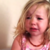 This little girl's cruel father has stolen her nose