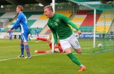 Ireland U19 striker signs professional contract with Everton
