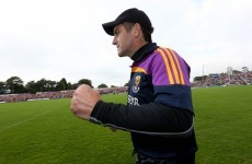 Why was Sean O'Brien in the Wexford dressing room last week? That's just Liam Dunne's way