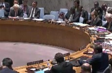 Palestine UN representative holds back tears during Security Council meeting
