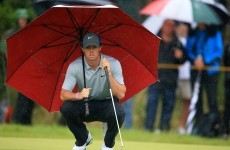 McIlroy soars with double eagle finish at Open