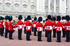 Listen to the Queen's guards playing the Game of Thrones theme tune