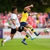 Arsenal get a tough workout in their first pre-season game against Boreham Wood