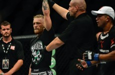 McGregor backs up the talk with first round knockout at sold-out O2 Arena