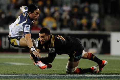 The Brumbies gained revenge for their 2013 Grand Final defeat to the chiefs.