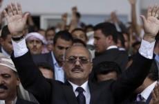 Will Yemeni president stay or go?