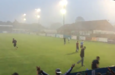 Coventry fans start doing 'Klinsmanns' after their game is abandoned