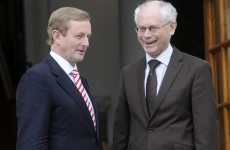 "Van Rompuy on interest rate reduction: ""We need a deal"""