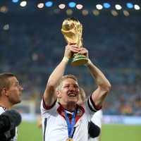 It wasn't me! Someone in the Germany camp broke the World Cup trophy