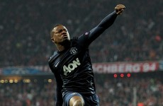 Evra thanks Alex Ferguson as he walks away to Juventus on €1.5 million fee