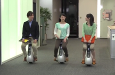 Honda has made a rival to the Segway, and it looks like a moving toilet