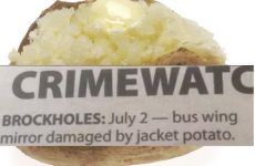 'Jacket potato crime' makes for excellent headlines in Huddersfield