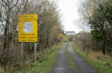 Exceptionally helpful road sign on the Donegal/Fermanagh border