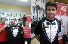 Take a bowtie, son: Spanish third division team set to rock fake tux jerseys this season