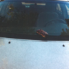 Sweetest vandals ever smear cars with pastries and doughnuts